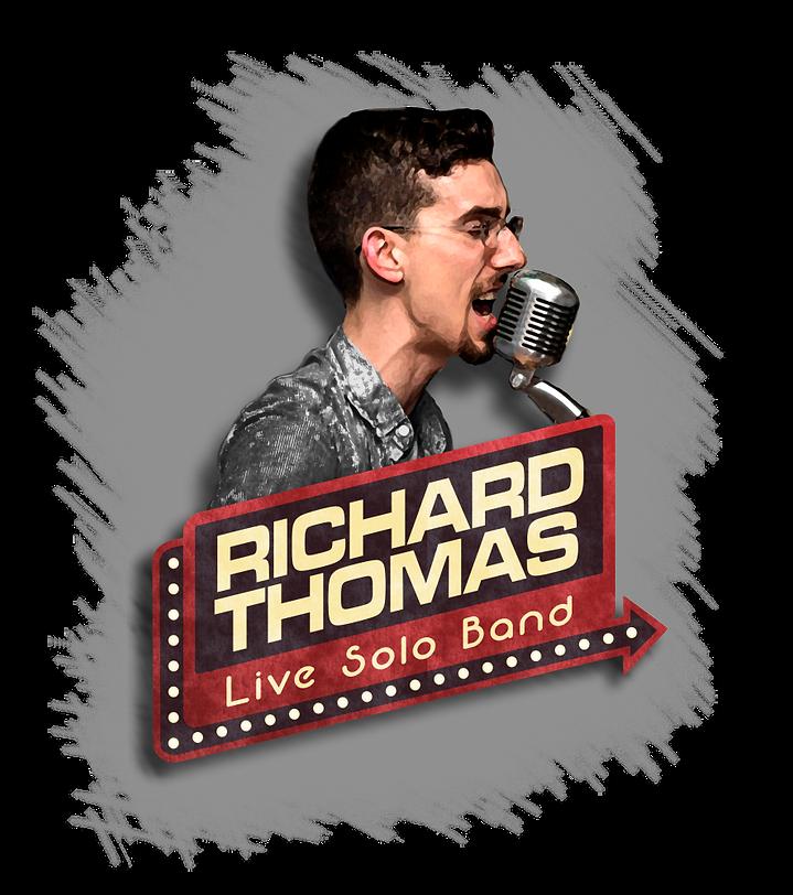 Richard Thomas Live Solo Band Logo Foreg
