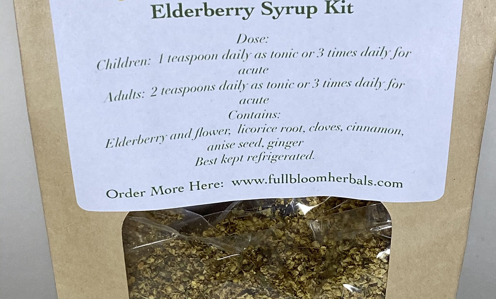 Elderberry Syrup Kits