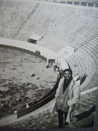 Ted Joans in Tanger