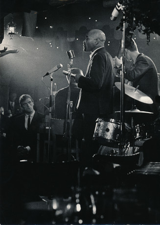 Ted Joans performing in Jazz and Poetry