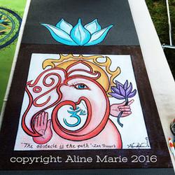 Aline Marie yogamats Ganesha