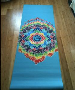 Aline Marie yoga mats mandala