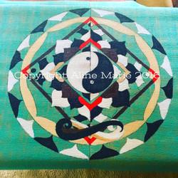 Aline Marie yogamats yin yang