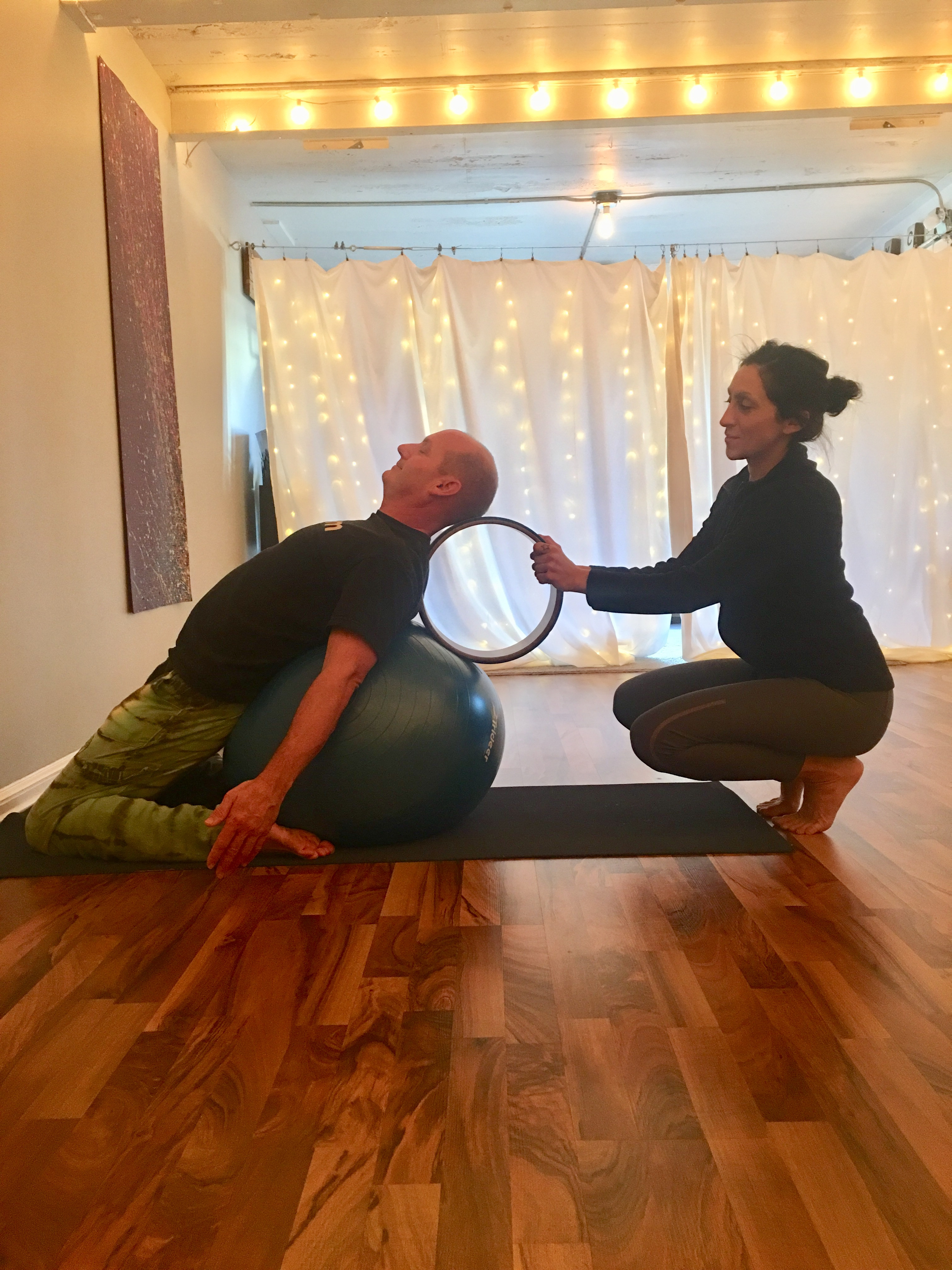 Private Yoga one to one