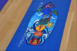 Aline Marie yogamat Golden Door