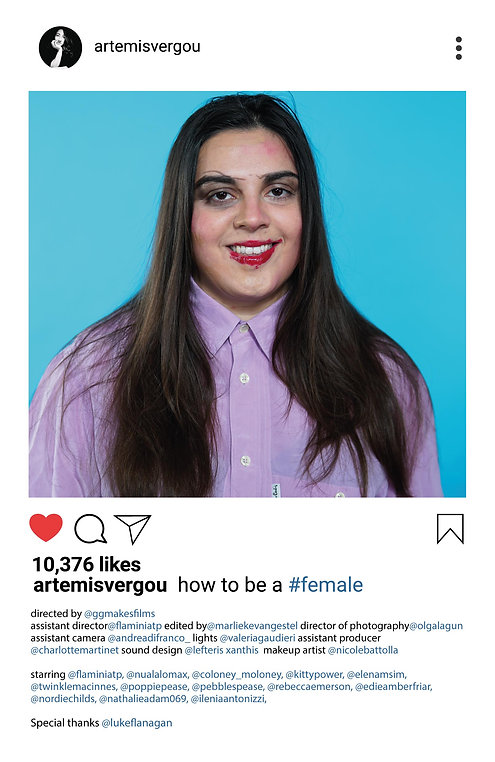 how to be a female poster-01 - Artemis V