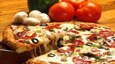 delicious pizza by farmhaus