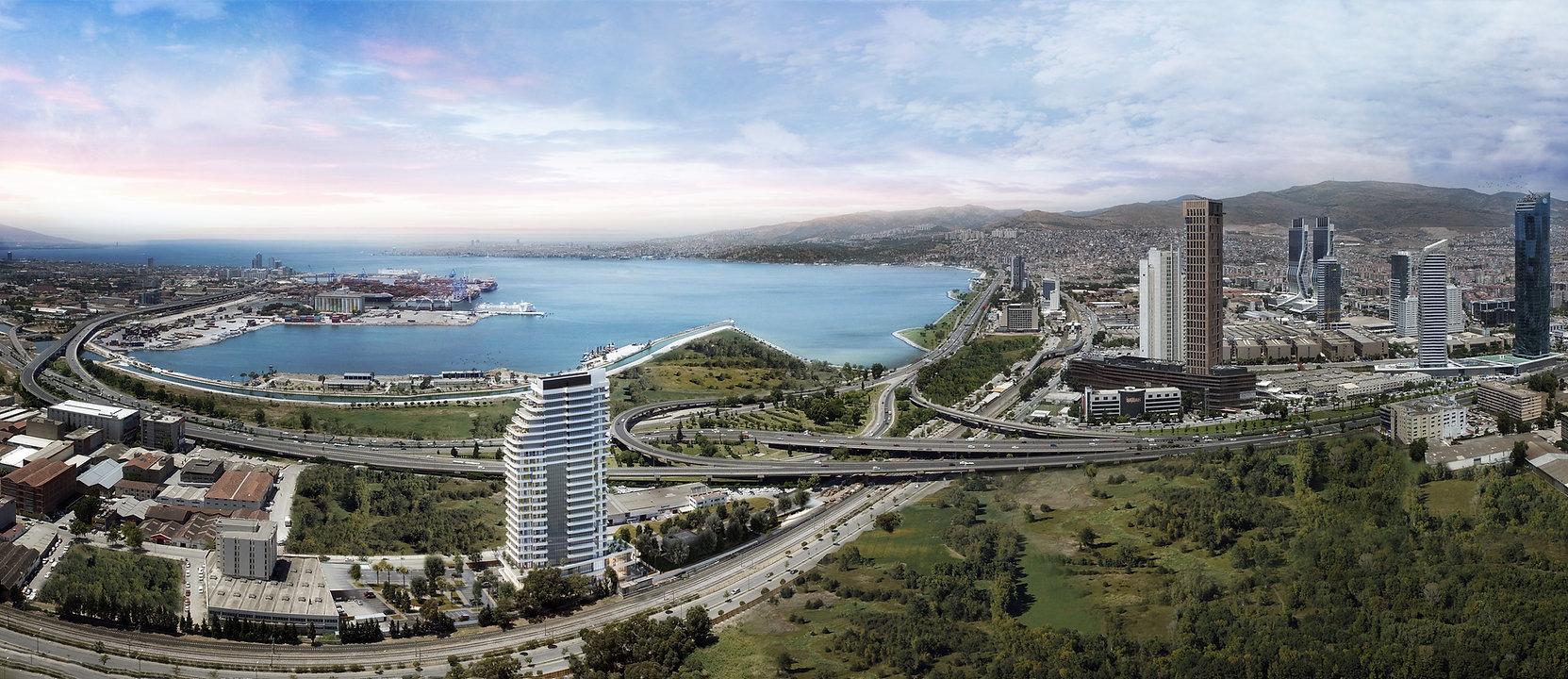 Bayrakli 1923 project placing