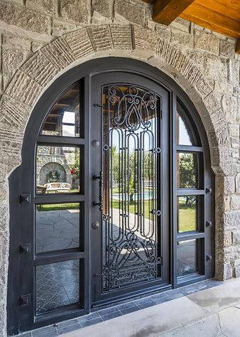 mindoza iron door