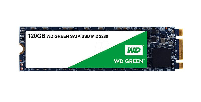 Unidad En Estado Solido WESTERN DIGITAL WD Green, 120GB