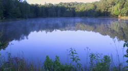 Bass Lake at sunrise