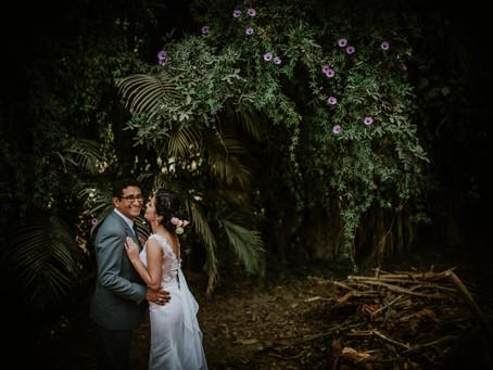 Sashi y Jonathan, de las aulas al altar - Boda en Cieneguilla.