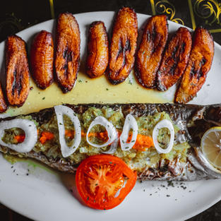 Grilled Pangasius & Fried Plantain | Malangua