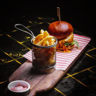 Deluxe Gourmet Beef Burger