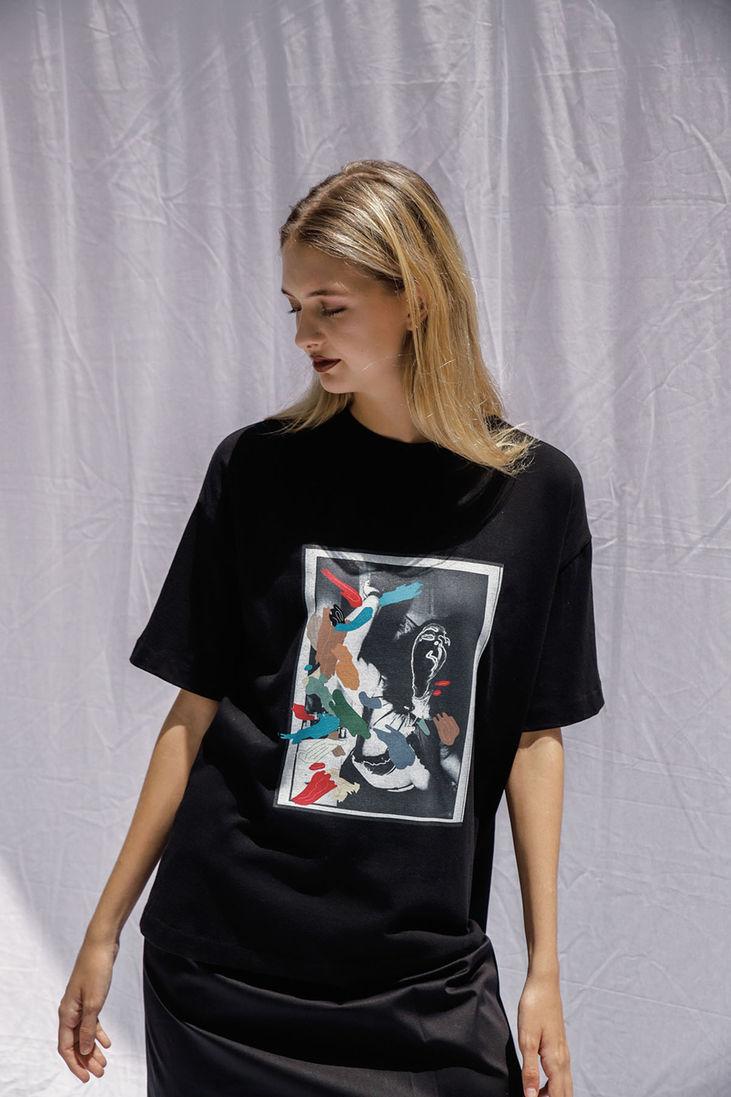 Freeshow Printed T-shirt