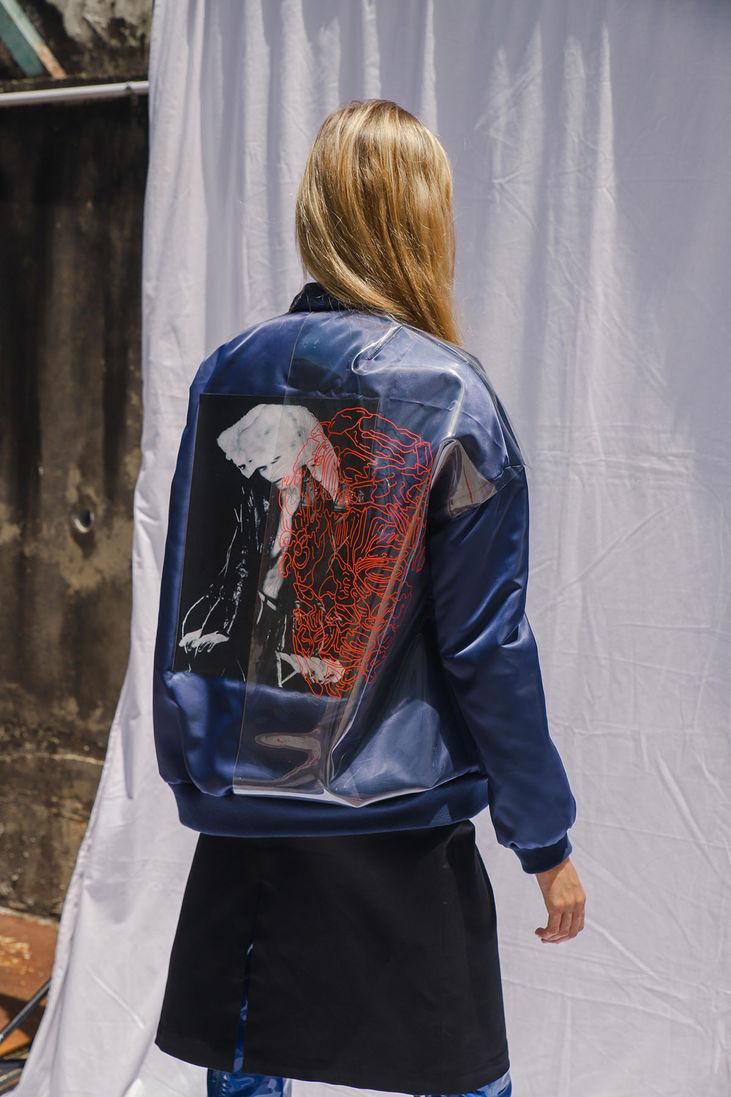 Oversized Altered MA-1 Jacket