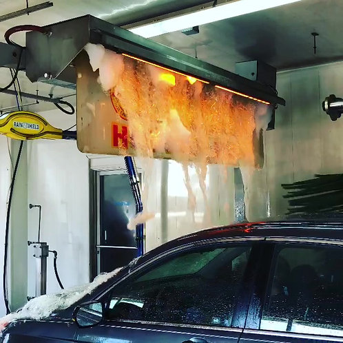 Unlimited Hot Wax Wash Pass