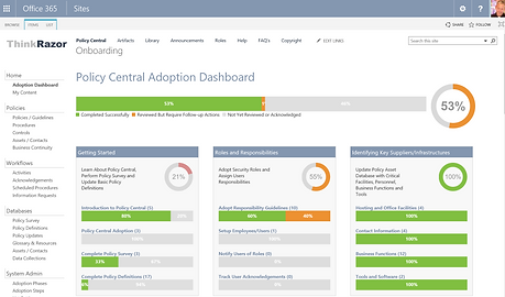 PolicyCentral SOC Compliance Wizard