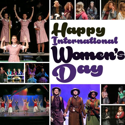 Marquette Theatre International Women's Day Instagram Image