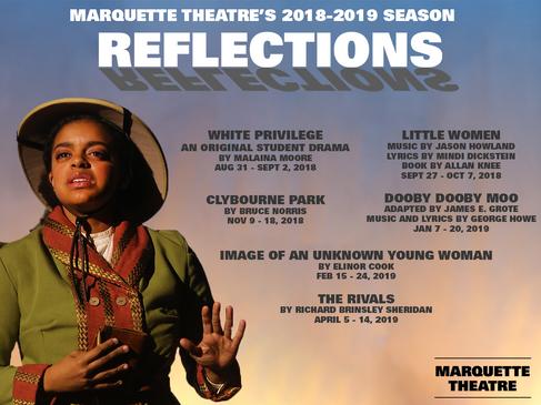Marquette Theatre 2018-2019 Season Announcement - Facebook