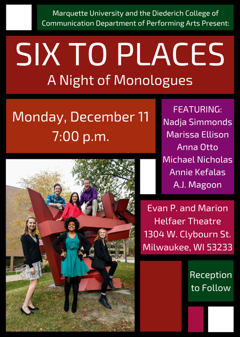 Six to Places Showcase Invitation