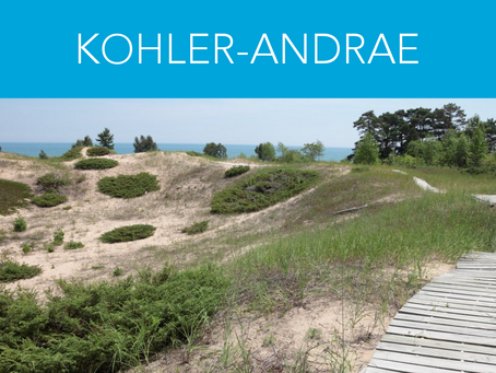 How to Find Us - Kohler-Andrae State Park