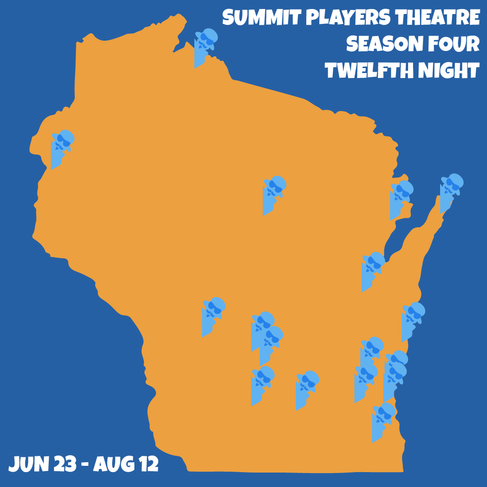 Summit Players Theatre 2018 Show Map