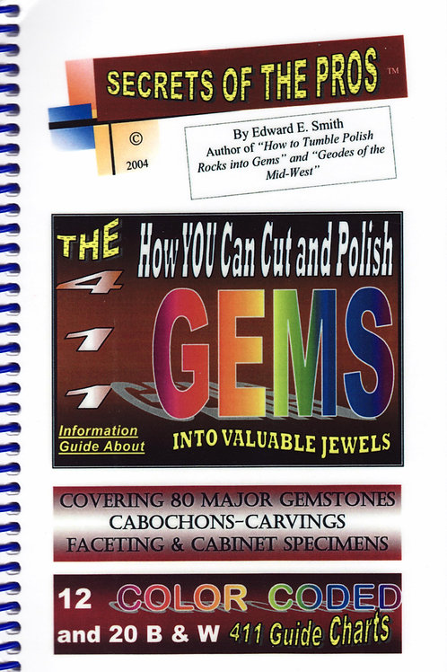 How you can Cut and Polish Gems,
