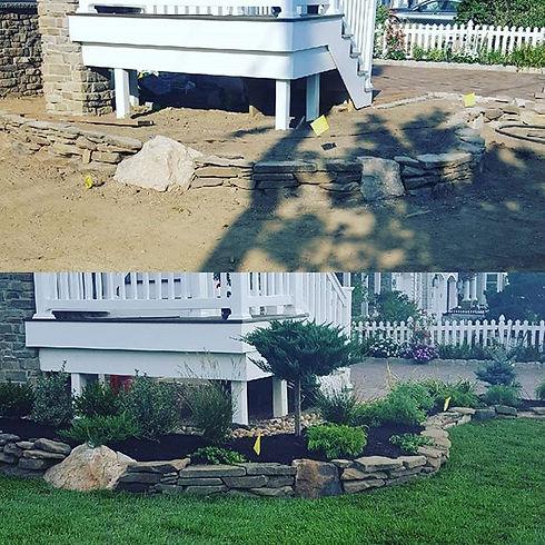 #landscapedesign #landscaping #stone #ga
