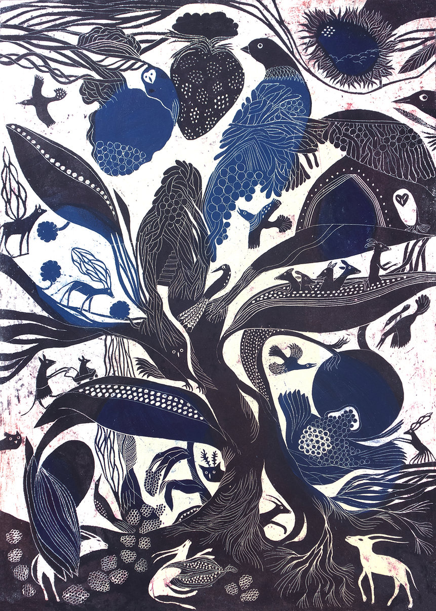 nids et racines indigo bleu.jpg