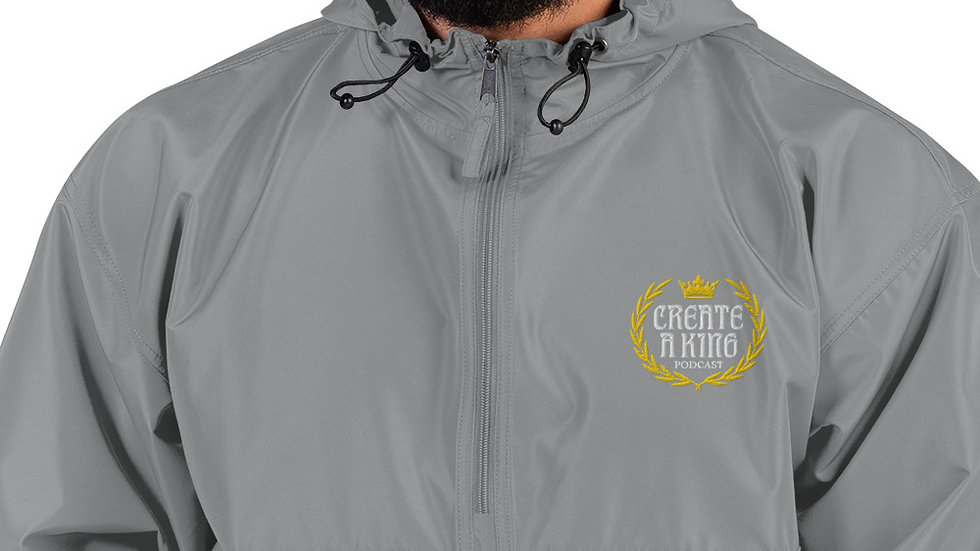 Create A King Logo Champion Packable Jacket