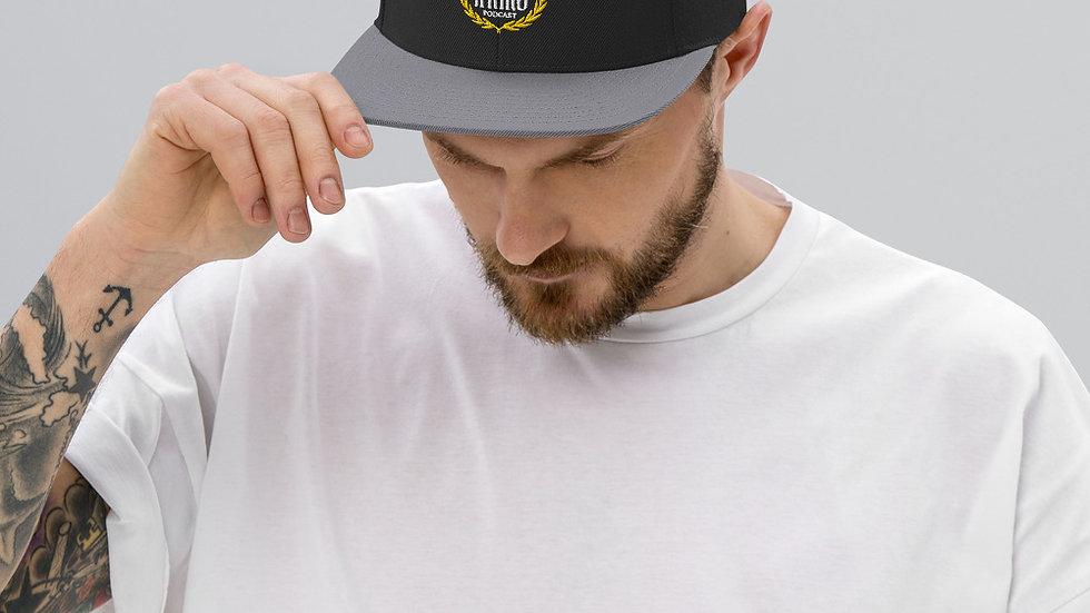 Create A King Logo Snapback Hat