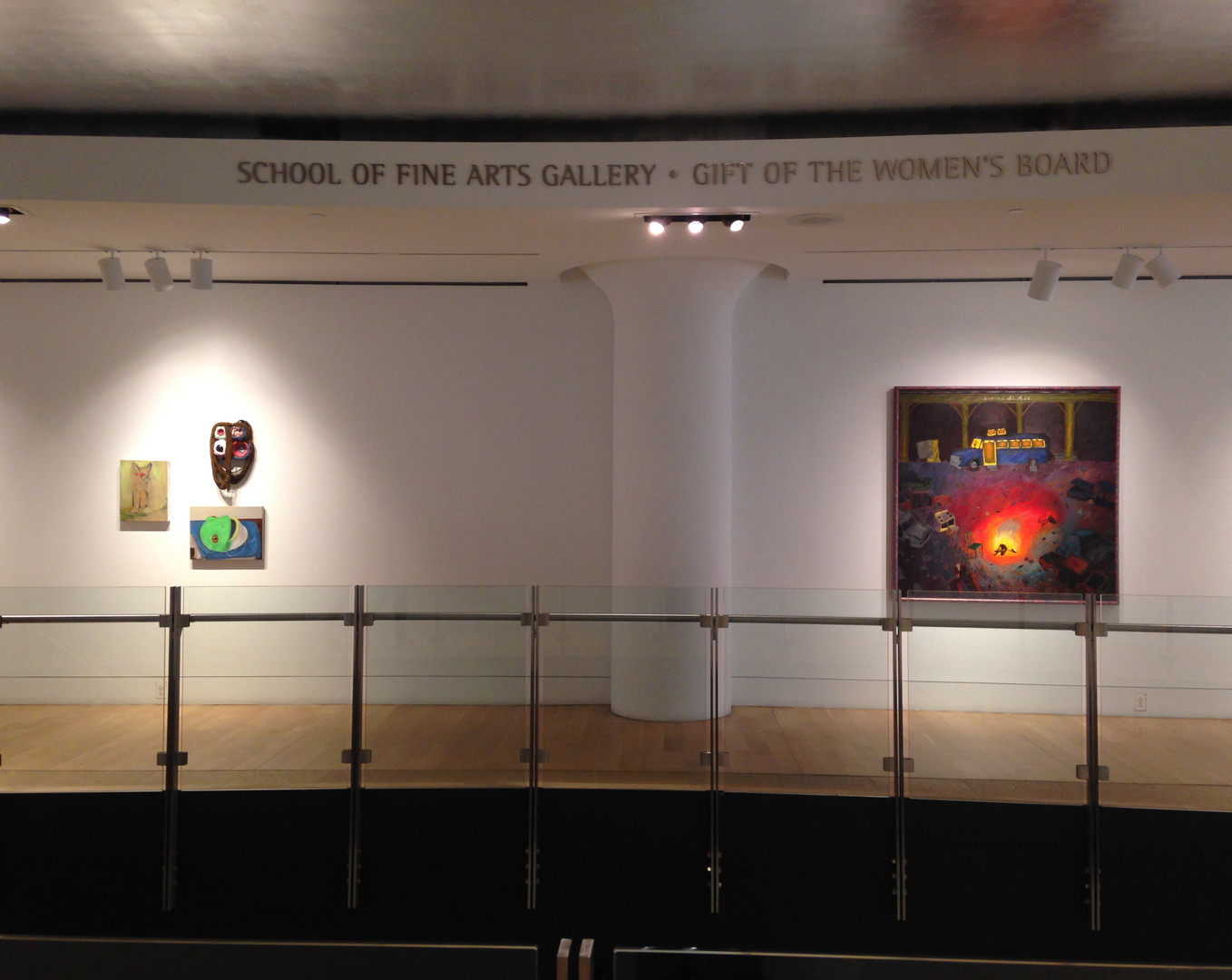 Installation Shot: the Pennsylvania Academy of the Fine Arts