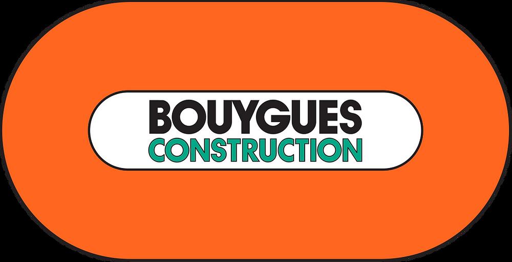 Logo de Bouygues Construction, entreprise de batiment