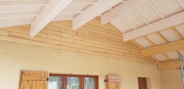 Charpente avancée de toiture