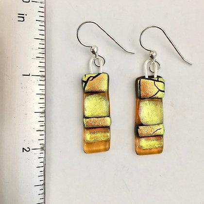 Amber Copper Gold Irid