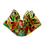 Thumbnail: fused glass vase