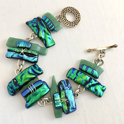 Emerald Green Bracelet  (small)
