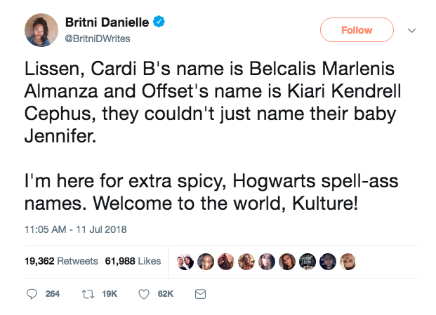 via Twitter: @BritniDWrites