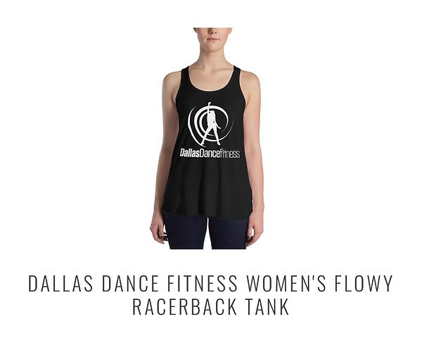 Dallas Dance Fitness new logo tank top