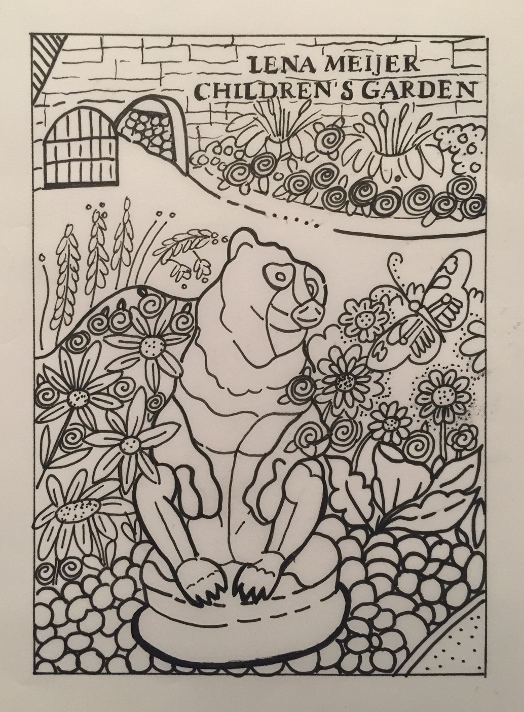 MEIJER COLORING PAGE