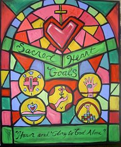 #5 SACRED HEART 5 GOALS