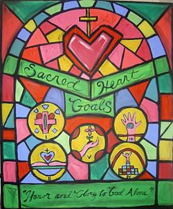 SACRED HEART 5 GOALS