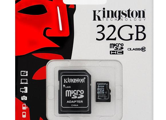 Micro SD 32 GB de Kingston Clase 10