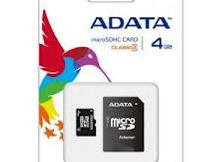 Micro SD 4 GB de ADATA