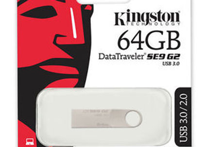 USB Kingston SE9 G2 de 64 GB Velocidad 3.0