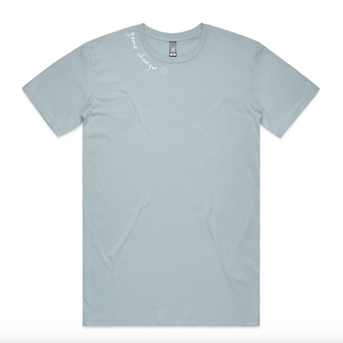Game Changer Tee - Pale Blue