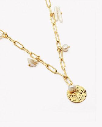 Collier avec perles