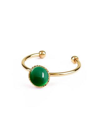 Athena Green Agathe Ring