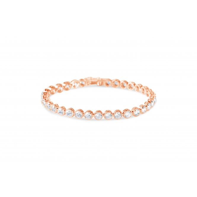 Larkspur rose gold bracelet
